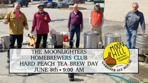 The Moonlighters Homebrewers Club Hard Peach Tea Brew Day @ Moon Hill Brewing Co. | Gardner | MA | United States