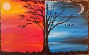 Couples Paint Day at the Brew Barn @ Brew Barn | Phillipston | MA | United States