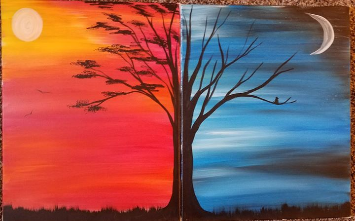 Couples Paint Day at the Brew Barn