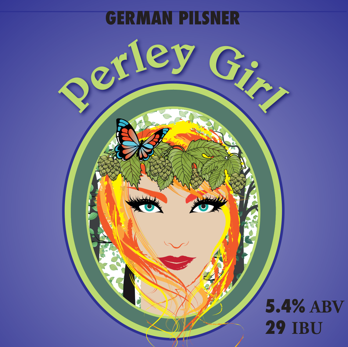 Perley Girl German Pilsner